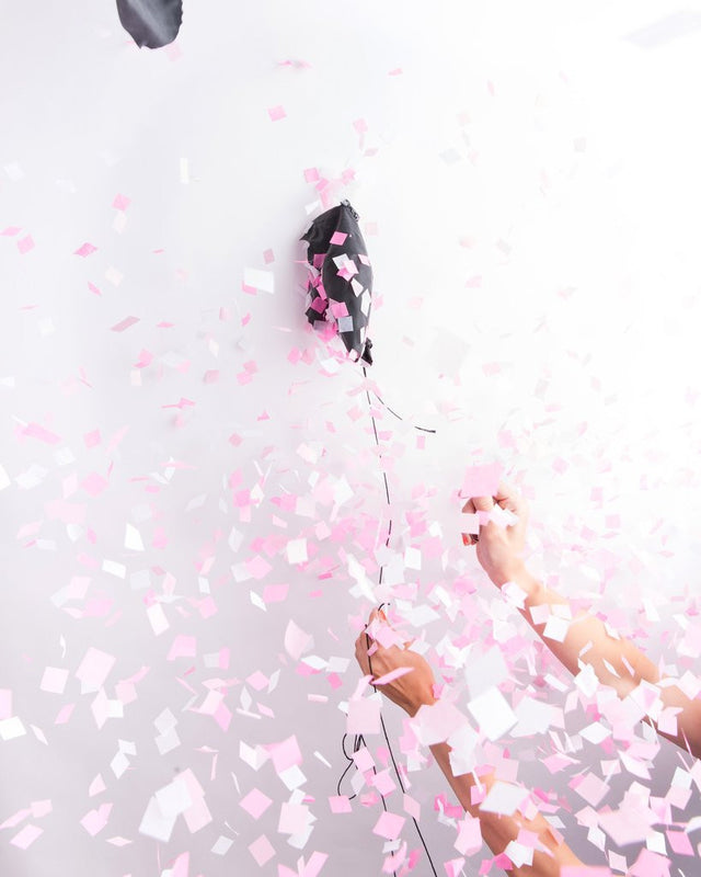 Buy PINK GENDER REVEAL CONFETTI BALLOON for $16.00