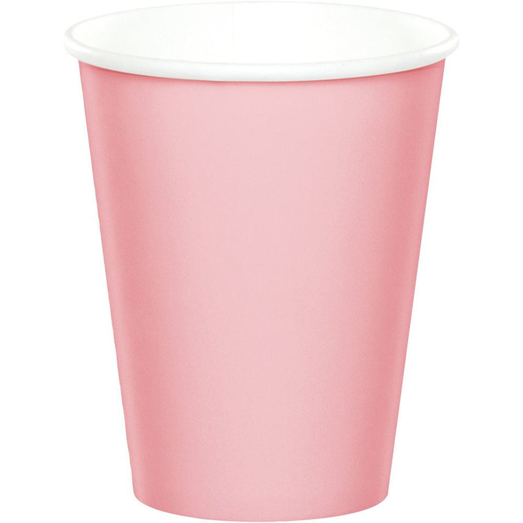 COTTON CANDY PINK PAPER CUPS
