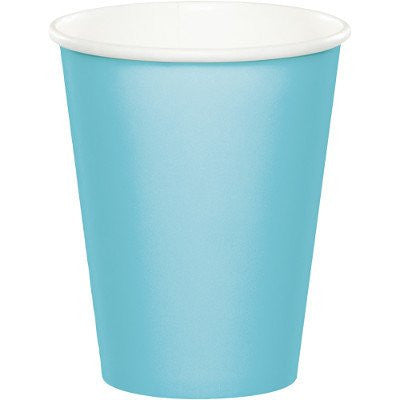 Buy PASTEL BLUE VELVET PAPER CUPS for $5.50