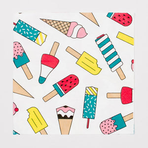 Ice Cream Party Napkins