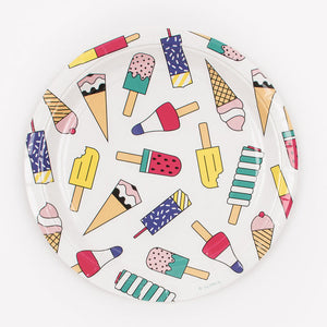 Ice Cream Large Plates