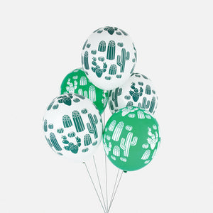 Cactus Printed Balloons