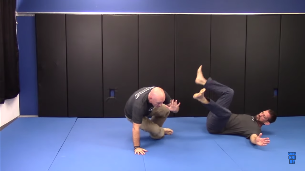 Get To Your Feet Safely By Using Jiu-Jitsu
