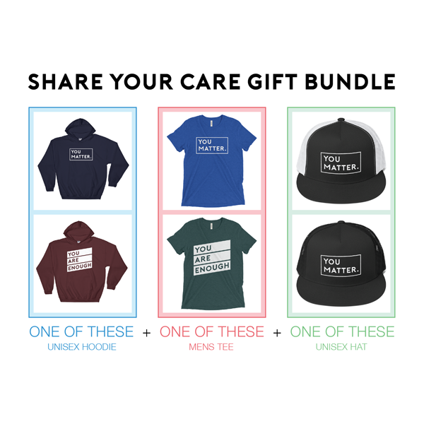 3-Piece SHARE YOUR CARE Gift Package