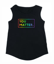 Special Edition LGBTQ Women's Pride Soft Cotton Cap Sleeve T-shirt by Matter Apparel | Made In Portland, Oregon | Clothing for People Who Care | Wear Your Care