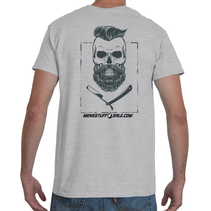 Skeleton Barber Men's T-Shirt