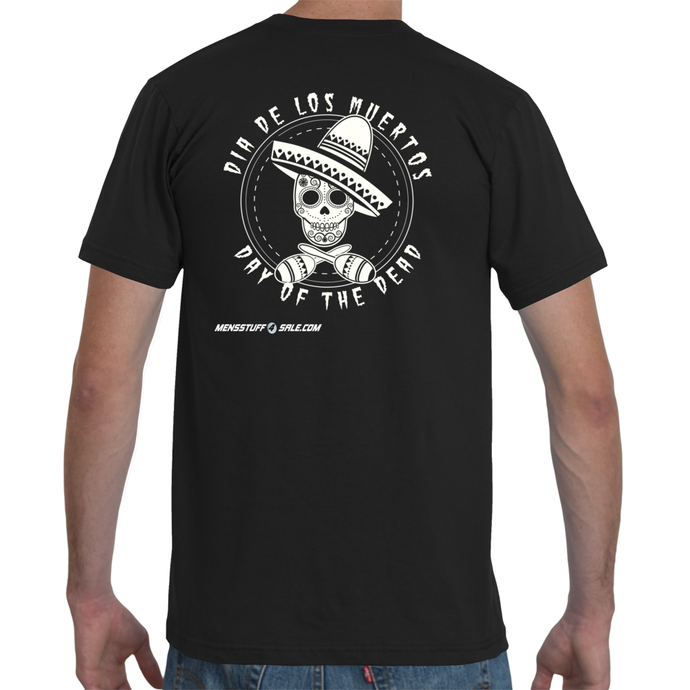 Day of the Dead Circle Men's T-Shirt