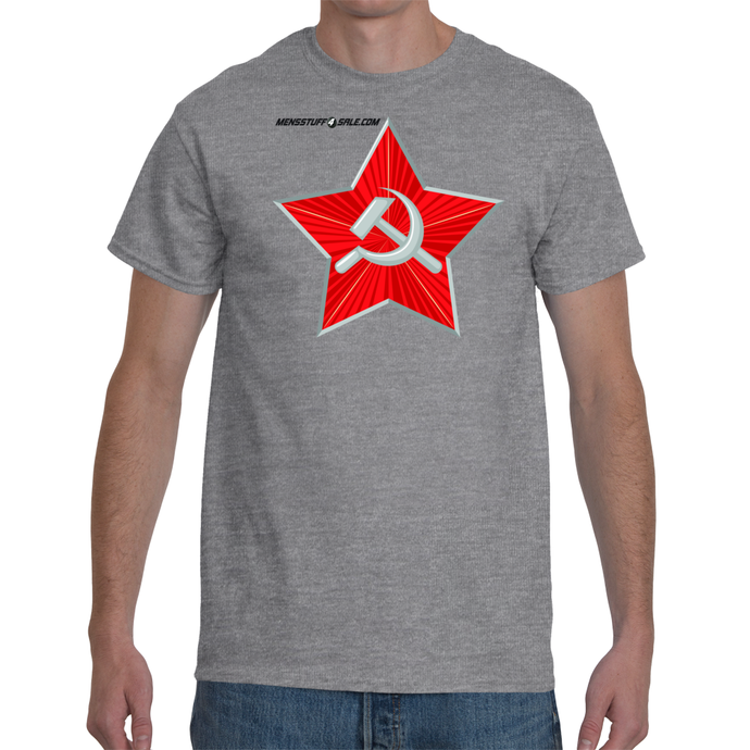 Red Hammer Star T-shirt