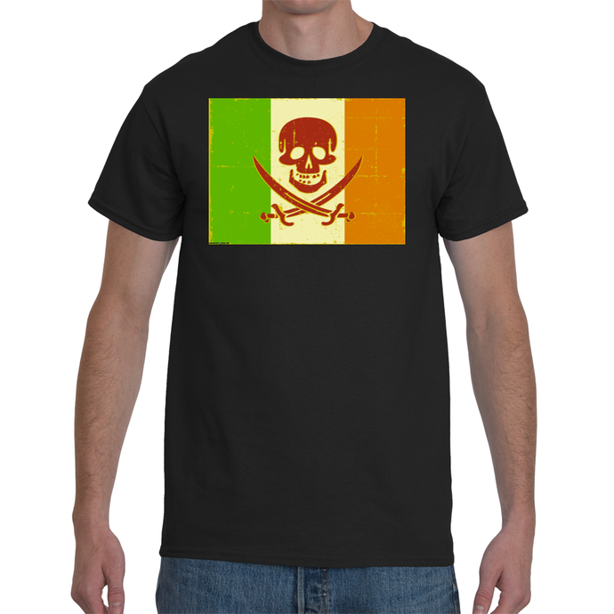 Irish Pirate Flag T-shirt