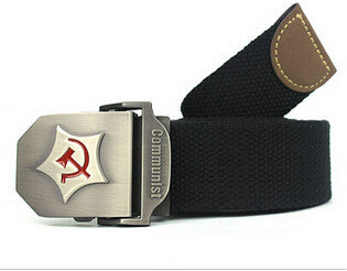 Men's Belts: Communist Military Belt Designs