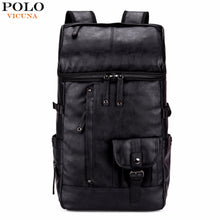 Men's Backpack: Polo Vicuna, Black