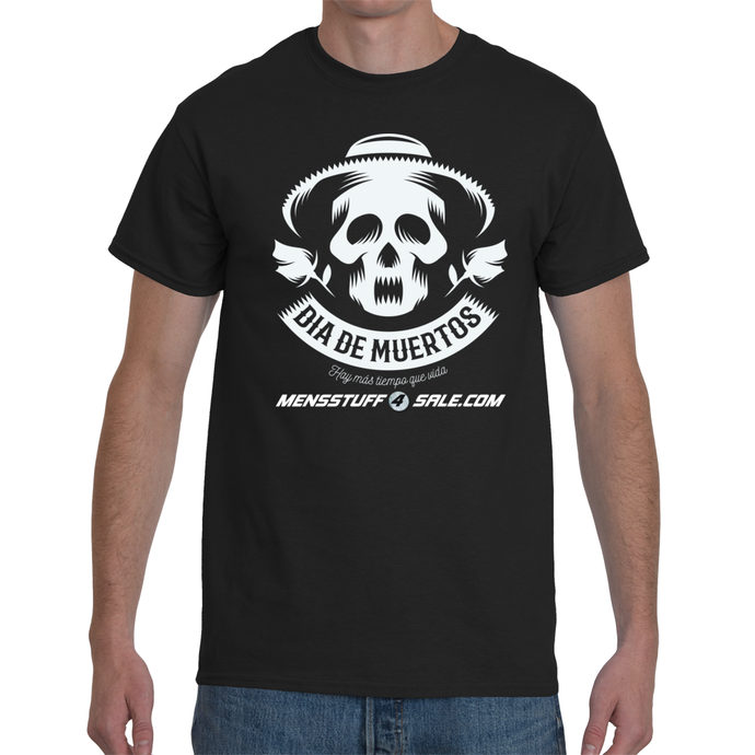 Skeleton Musician Men's T-Shirt