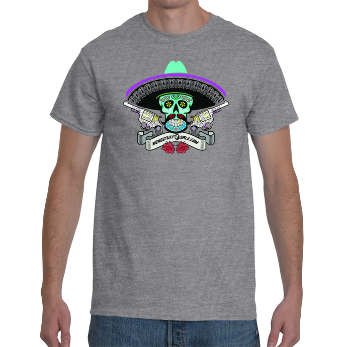 Colourful Skull Men's T-Shirt