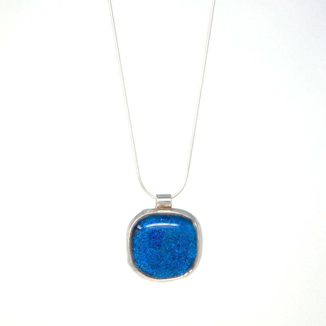 Blue Square Amulet