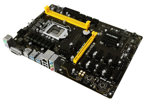 Biostar Rolls Out 12-Slot PCI-E Cryptocurrency Mining Motherboard