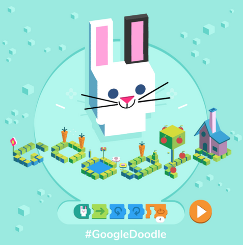 Google's first-ever coding Doodle is as cute as it is fun