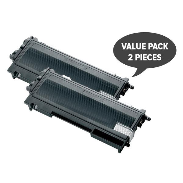 2 x TN-155Bk Black Premium Generic Toner Compatible Toner Cartridge Discount Computer Needs