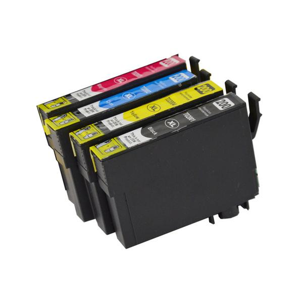 200XL non-OEM 4-Set Ink cartridge for Epson XP100-XP310, WF2510-WF2540 Compatible Ink Cartridge Discount Computer Needs