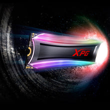 Adata XPG 512GB Spectrix S40G M.2 RGB SSD Solid State Drives Discount Computer Needs