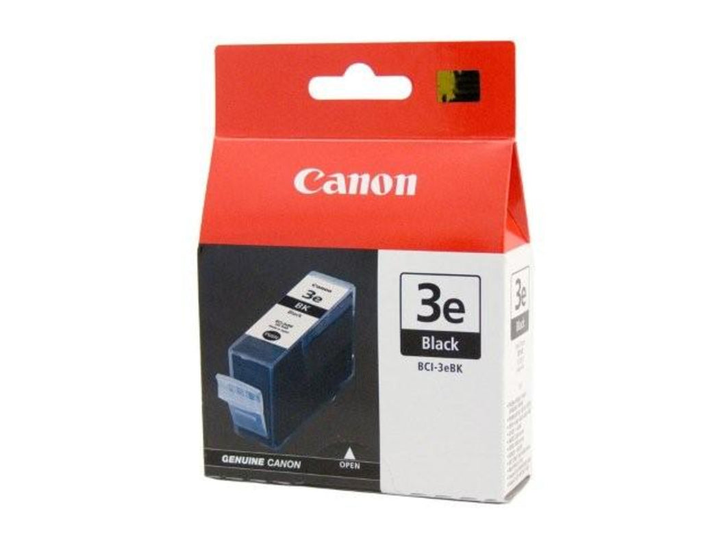 Canon BCI-3EBK Black Ink Cartridge for BJC3000 i6100 i6500 Canon Ink Discount Computer Needs