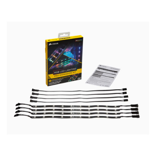 CORSAIR RGB LED Lighting PRO Expansion Kit Case Parts and Accessories Discount Computer Needs