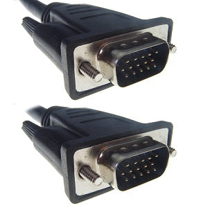 10M Male to Male Monitor Cable HD15 Video Cables and Adapters Discount Computer Needs