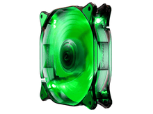 COUGAR 140mm Green LED Hydraulic Bearing Case Fan Computer Case Fans Discount Computer Needs