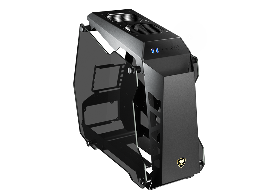 Cougar Conquer Essence Tempered Glass Gaming Case Computer Cases Discount Computer Needs