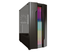 Cougar Gemini-S Grey RGB Tempered Glass Gaming Case Computer Cases Discount Computer Needs