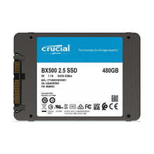 Crucial 480GB BX500 2.5 inch SATA SSD Solid State Drives Discount Computer Needs