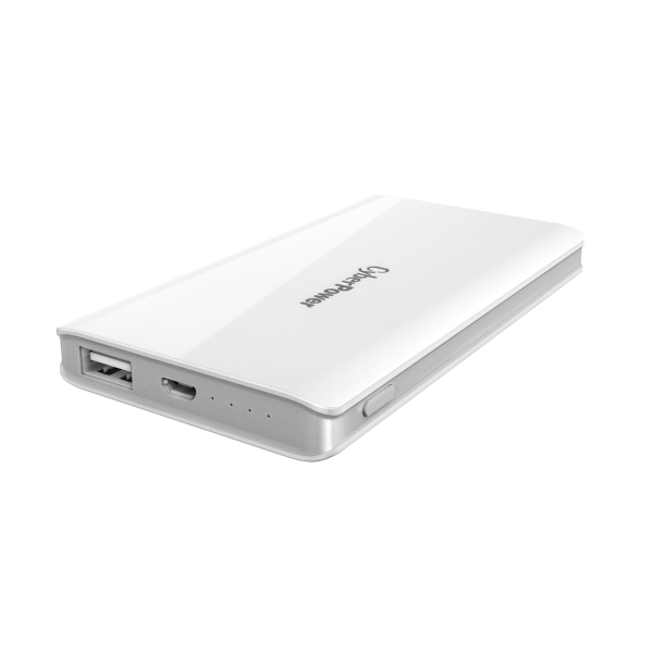 Cyberpower 5000mAH PowerBank White Batteries Discount Computer Needs