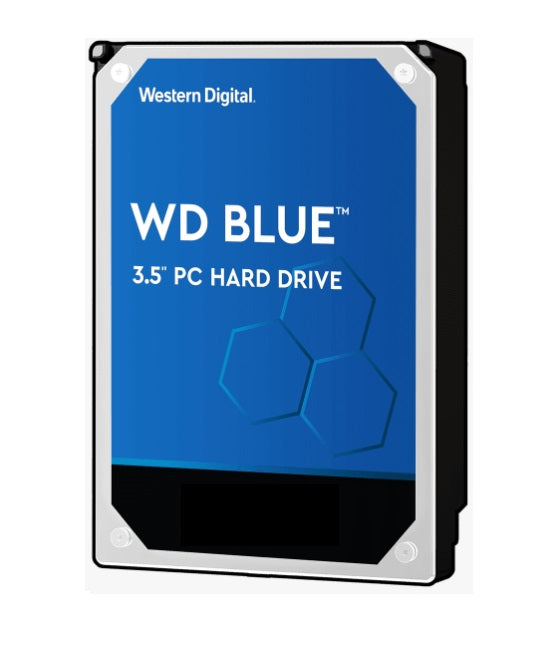 WD Blue 4TB Hard Drive SATA3 3.5 inch 5400RPM Internal Hard Disk Drives Discount Computer Needs