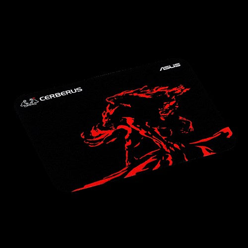 ASUS GAMMING CERBERUS MAT MINI RED 250 x 210x 2mm Mouse Pads and Wrist Rests Discount Computer Needs