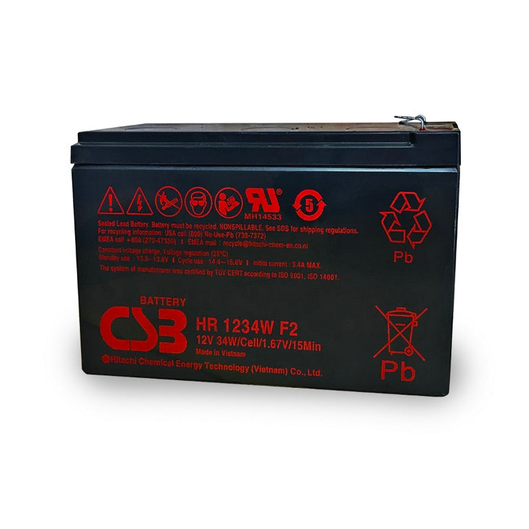 Powershield Replacement 12 Volt 9 Amp Battery UPS Batteries and Components Discount Computer Needs