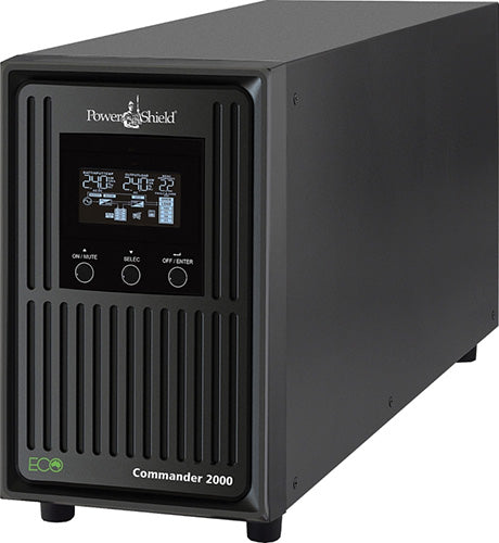 PowerShield Commander 1100VA Line Interactive UPS Uninterruptible Power Supplies Discount Computer Needs