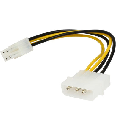 Astrotek Molex Cable 20cm 4 pins to 8 pins Adapter Converter Power Cables and Connectors Discount Computer Needs