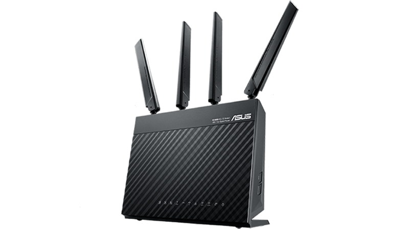 ASUS 4G-AC68U AC1900 Wireless LTE Modem Router 3G 4G Support Gigabit Modem Router Combos Discount Computer Needs