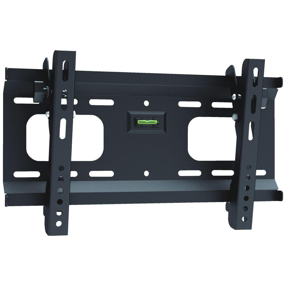 TV Ultra Slim Tilting Wall Bracket up to 42 inch with Spirit Level TV Stands and Mounts Discount Computer Needs
