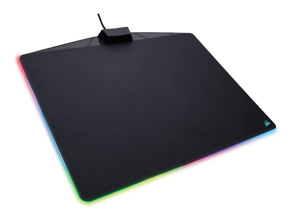 Corsair MM800 POLARIS RGB LED Mouse Mat Micro Texture Mouse Pads and Wrist Rests Discount Computer Needs