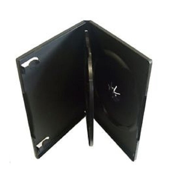 DVD Case 14mm Black for 3 DVDs Media Cases, Sleeves, and Wallets Discount Computer Needs