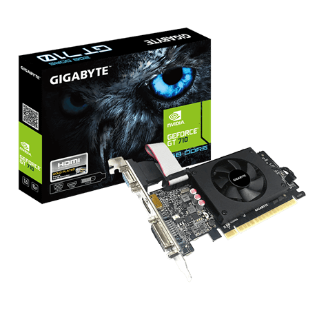 Gigabyte GT710 2GB DDR5 Video Card Video Cards Discount Computer Needs