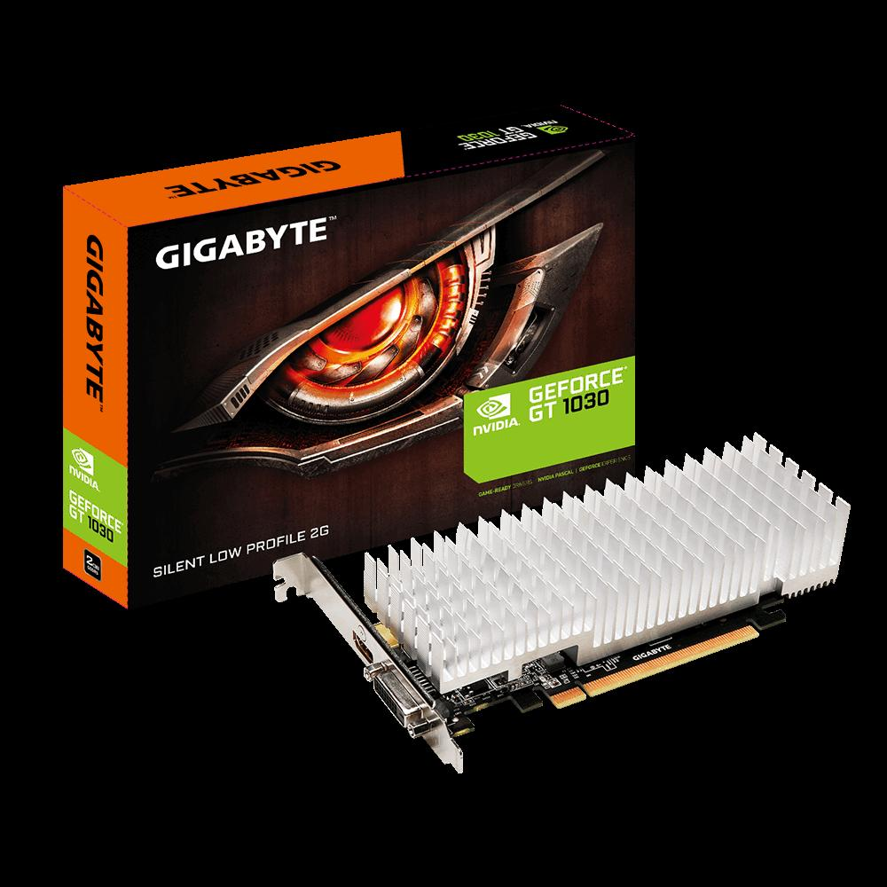 Gigabyte nVidia GeForce GT 1030 Silent 2GB PCIe Video Card Video Cards Discount Computer Needs
