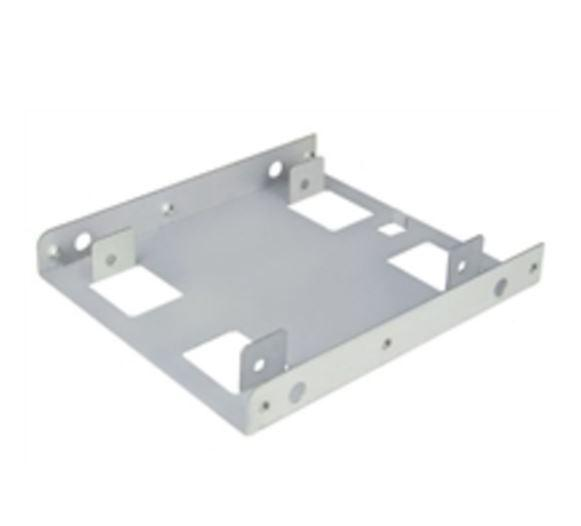 HGST 2.5 to 3.5 inch Aluminium Hard Drive Mount Silver HDDMT Case Parts and Accessories Discount Computer Needs
