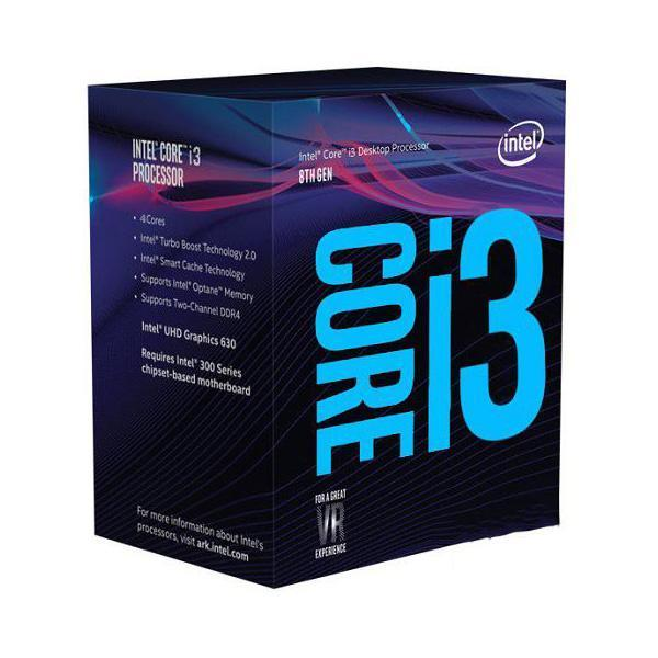 Intel Core i3-8100 Processor CPU Coffee Lake 3.6GHz CPUs Processors Discount Computer Needs