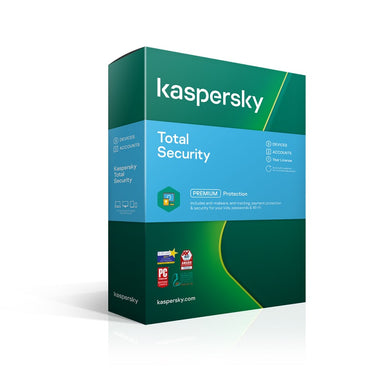 Kaspersky Total Security 2020 3 Device 1 Year Antivirus and Security Discount Computer Needs