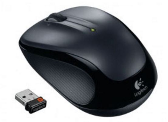 Logitech M325 Dark Grey Wireless Mouse Mice, Trackballs, and Pointers Discount Computer Needs