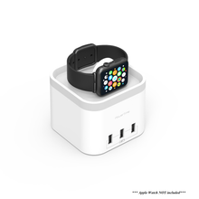 mbeat Power Time Apple Watch Charging Dock With 3x USB Chargers and Cradles Discount Computer Needs