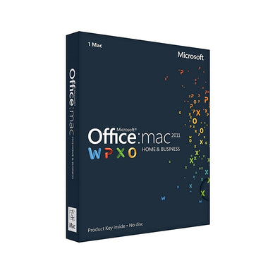 Microsoft Office Mac Home and Business 2011 1 User Office and Business Discount Computer Needs