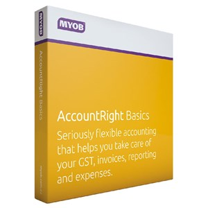 MYOB AccountRight Basics 1 Year Personal Finance, Tax, and Legal Discount Computer Needs