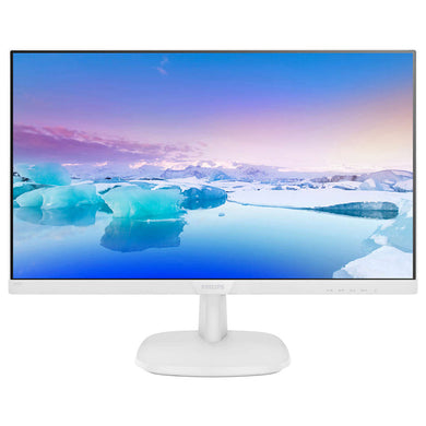 Philips 23.8 inch IPS White Monitor with Speakers Monitors Discount Computer Needs